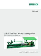 Crude Oil Transfer and Multiphase Boosting Solutions