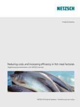 Reducing costs and increasing efficiency in fish meal factories