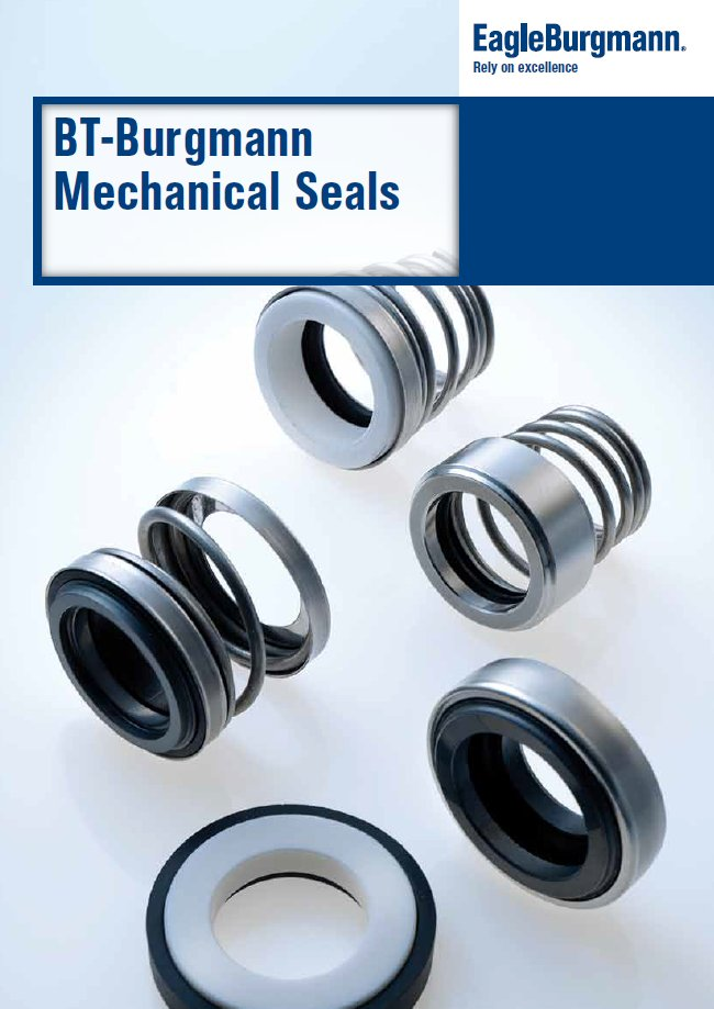 Burgmann Mechanical seals catalog